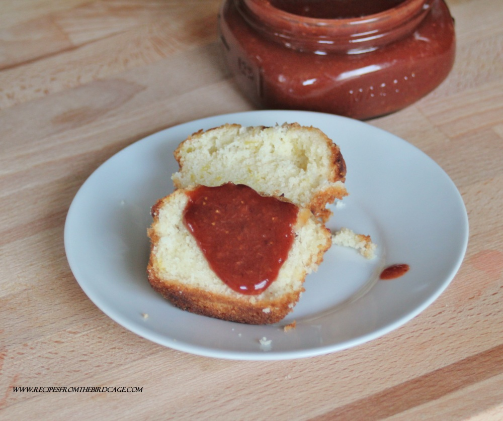 This post is about jam, not muffins, those fickle jerks.