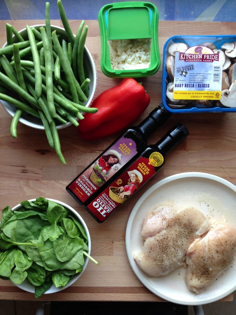 Simple ingredients make weeknight meal prep easier.
