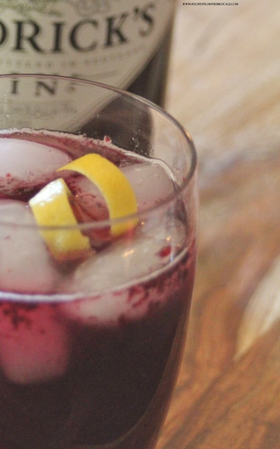 Blackberry Verbena Gin & Tonic